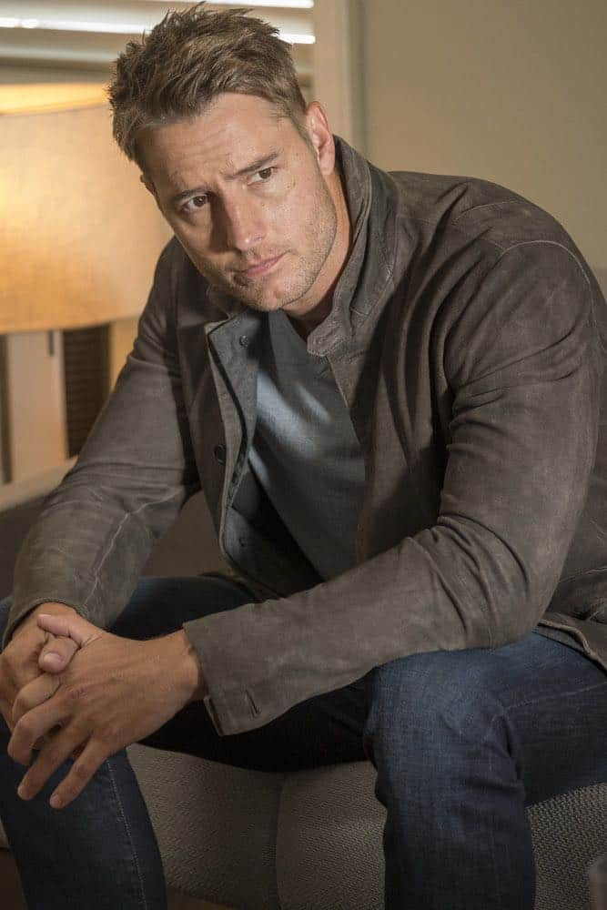 "THIS IS US -- ""Katie Girls"" Episode 303 -- Pictured: Justin Hartley as Kevin Pearson -- (Photo by: Ron Batzdorff/NBC)"