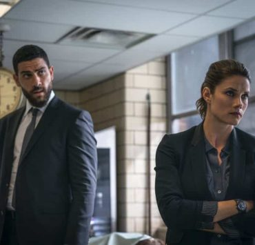 """""""Prey"""" -- Special Agent Maggie Bell, Special Agent OA Zidan and the team investigate the murders of 18 young women with help from a survivor associated with the deceased, on FBI, Tuesday, Oct. 9 (9:00-10:00 PM, ET/PT) on the CBS Television Network. Pictured: Missy Peregrym, Zeeko Zaki Photo: Michael Parmelee/CBS ©2018 CBS Broadcasting, Inc. All Rights Reserved"""