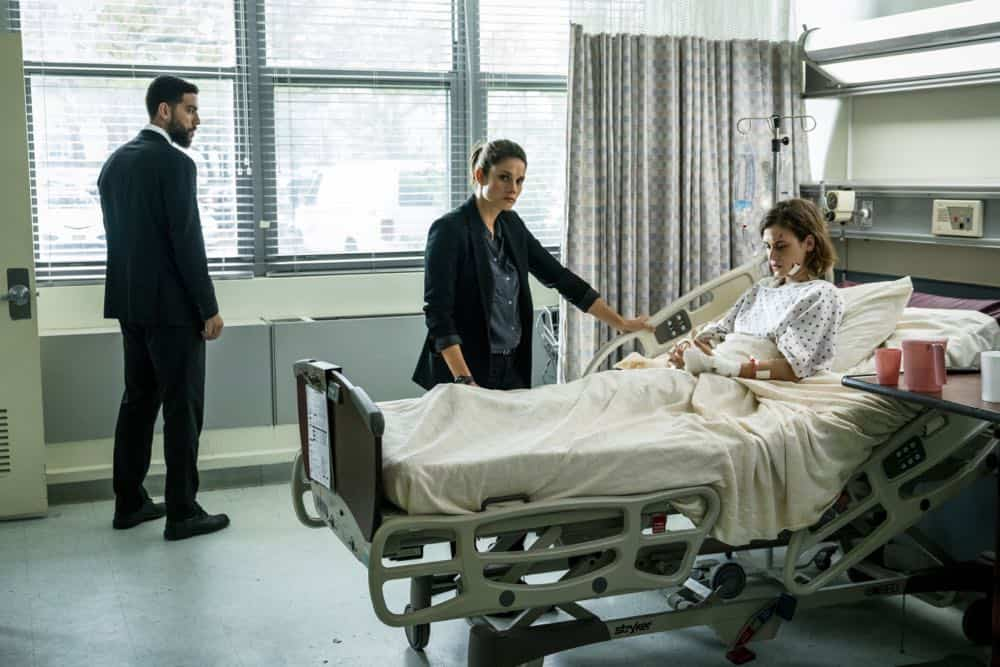 """Prey"" -- Special Agent Maggie Bell, Special Agent OA Zidan and the team investigate the murders of 18 young women with help from a survivor associated with the deceased, on FBI, Tuesday, Oct. 9 (9:00-10:00 PM, ET/PT) on the CBS Television Network. Pictured: Zeeko Zaki, Missy Peregrym, Ili Ray Photo: Michael Parmelee/CBS ©2018 CBS Broadcasting, Inc. All Rights Reserved"
