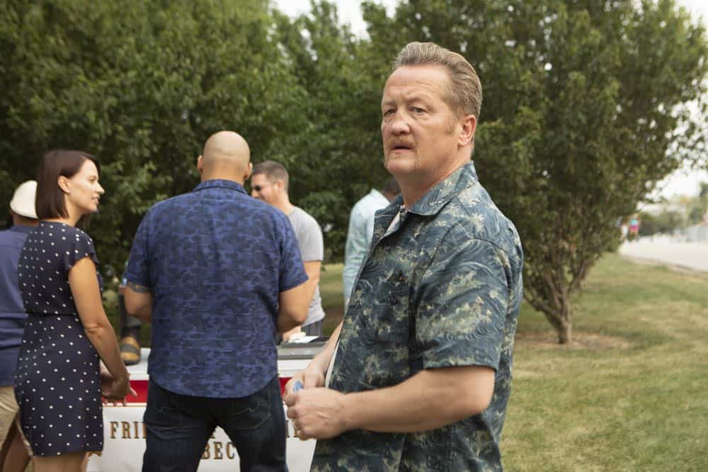 "CHICAGO FIRE -- ""Thirty Percent Sleight of Hand"" Episode 703 -- Pictured: Christian Stolte as Randy ""Mouch"" McHolland -- (Photo by: Adrian Burrows/NBC)"