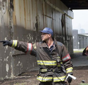 """CHICAGO FIRE. -- """"Thirty Percent Sleight of Hand"""" Episode 703 -- Pictured: Taylor Kinney as Kelly Severide -- (Photo by: Adrian Burrows/NBC)"""