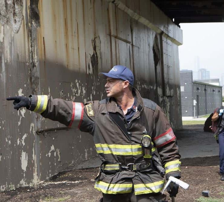 "CHICAGO FIRE. -- ""Thirty Percent Sleight of Hand"" Episode 703 -- Pictured: Taylor Kinney as Kelly Severide -- (Photo by: Adrian Burrows/NBC)"