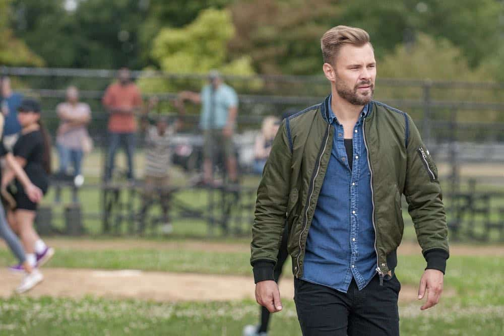 "CHICAGO P.D. -- ""Bad Boys"" Episode 603 -- Pictured: Patrick John Flueger as Adam Ruzek -- (Photo by: Matt Dinerstein/NBC)"
