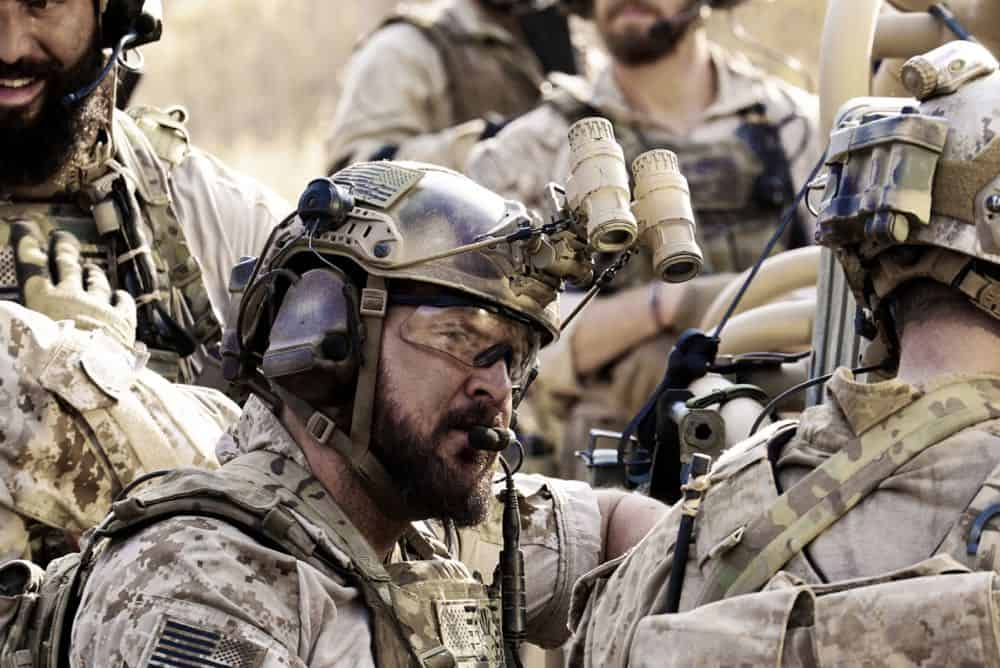 """Never Say Die"" -- Jason and Bravo Team travel to Saudi Arabia, where extremists take hold of an underground water source and threaten to release anthrax into the water supply. Also, Ray contemplates joining another team, on SEAL TEAM, Wednesday, Oct. 10 (9:00-10:00 PM, ET/PT) on the CBS Television Network. Pictured: AJ Buckley as Sonny Quinn. Photo: Monty Brinton/CBS ©2018 CBS Broadcasting, Inc. All Rights Reserved"