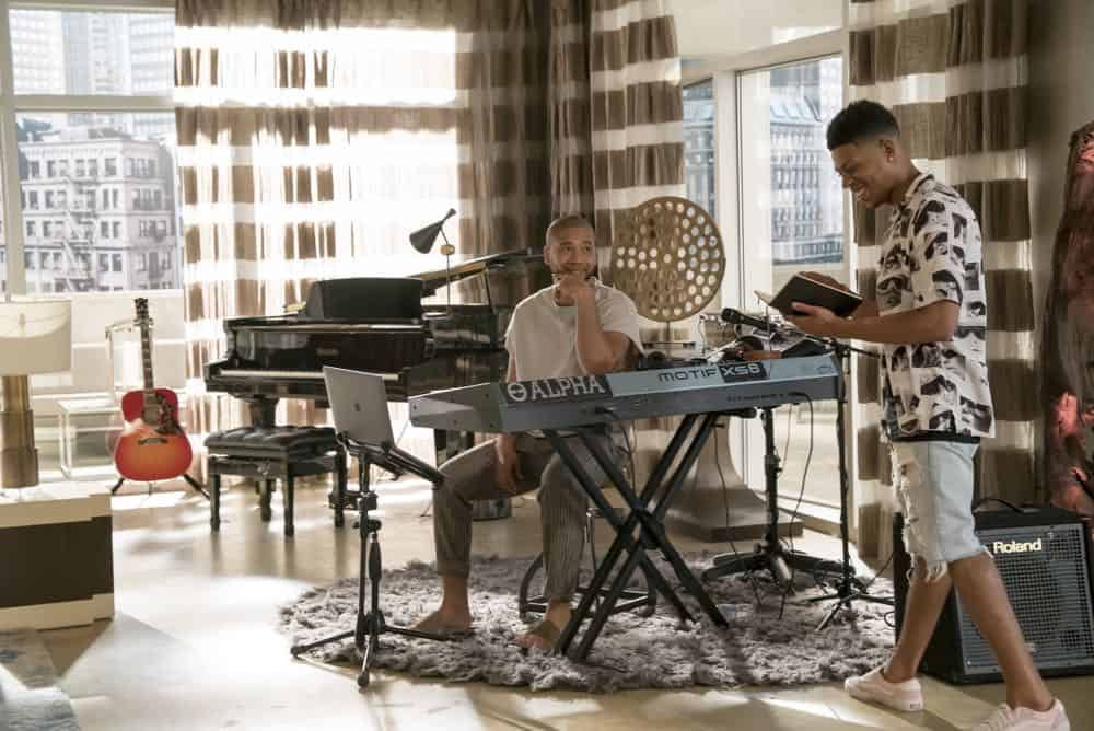 "EMPIRE: L-R: Jussie Smollett and Bryshere Y. Gray in the ""Pride"" episode of EMPIRE airing Wednesday, Oct. 10 (8:00-9:00 PM ET/PT) on FOX. @2018 Fox Broadcasting Co. CR: Chuck Hodes/FOX."