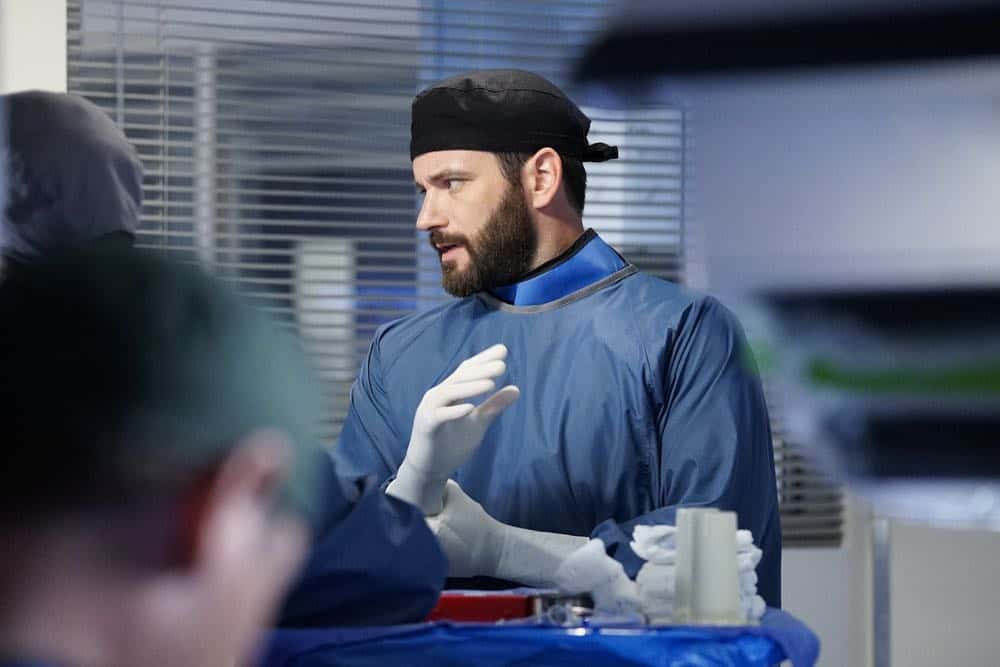 "CHICAGO MED -- ""Heavy Is The Head"" Episode 403 -- Pictured: Colin Donnell as Connor Rhodes -- (Photo by: Elizabeth Sisson/NBC)"