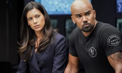 """Fire and Smoke"" -- The SWAT team is enlisted by Hondo's new romantic interest, Deputy District Attorney Nia Wells (Nikiva Dionne), to protect the jurors of a high-profile bribery trial, after some of them are targeted by organized crime in a series of fire-bombings, on S.W.A.T., Thursday, Oct. 11 (10:00-11:00 PM, ET/PT) on the CBS Television Network. Pictured L to R: Stephanie Sigman as Jessica Cortez and Shemar Moore as Daniel ""Hondo"" Harrelson. Photo: Robert Voets/CBS ©2018 CBS Broadcasting, Inc. All Rights Reserved"