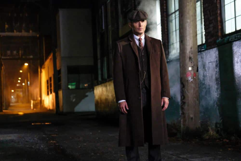 "Supernatural -- ""Stranger in a Strange Land"" -- Image Number: SN1401a_0165b.jpg -- Pictured: Jensen Ackles as Dean/Michael -- Photo: Bettina Strauss/The CW -- © 2018 The CW Network, LLC All Rights Reserved"