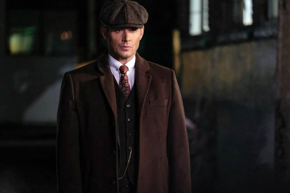 "Supernatural -- ""Stranger in a Strange Land"" -- Image Number: SN1401a_0197b.jpg -- Pictured: Jensen Ackles as Dean/Michael -- Photo: Bettina Strauss/The CW -- © 2018 The CW Network, LLC All Rights Reserved"