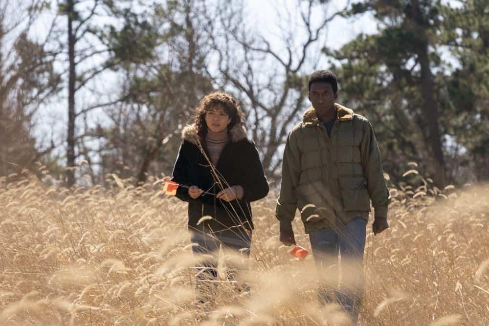 True Detective Season 3: Carmen Ejogo, Mahershala Ali. photo: Warrick Page
