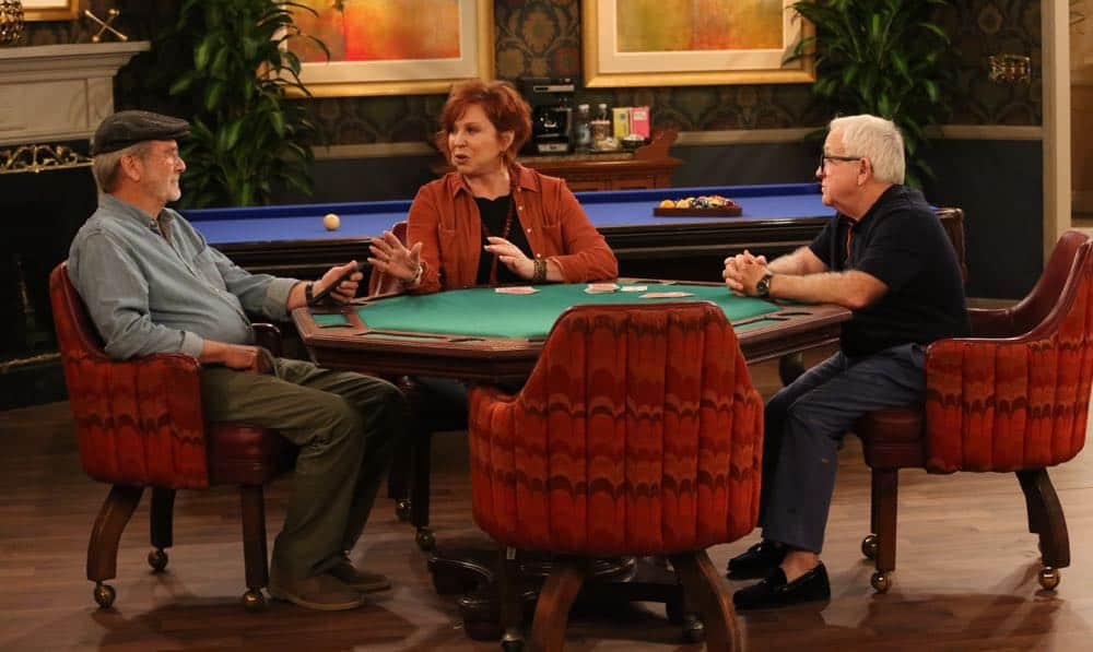 """THE COOL KIDS: L-R: Martin Mull, Vicki Lawrence and Leslie Jordan in the """"A Date With Destiny"""" episode of THE COOL KIDS airing Friday, Oct. 12 (8:30-9:00 PM ET/PT) on FOX. ©2018 Fox Broadcasting Co. Cr: Patrick McElhenney/FOX"""