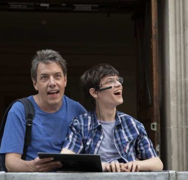 """SPEECHLESS - """"L-O-N-- LONDON (Part 2)"""" - Maya must choose between asking her father for money to save their house and a lasting relationship with him. Ray strives to bond with his new British family, only to discover Dylan's the one with a surprising connection. Meanwhile, JJ shows Kenneth a good time off-the-clock, and Jimmy inadvertently finds love, on """"Speechless,"""" FRIDAY, OCT. 12 (8:30-9:00 p.m. EDT), as part of the new TGIF programming block on The ABC Television Network. (ABC/Angus Young)"""