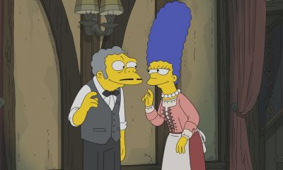 "THE SIMPSONS: God and St. Peter contemplate what merits a soul getting into heaven, while citizens of Springfield remember their divine encounters in the all-new ""My Way or the Highway to Heaven"" episode of THE SIMPSONS airing Sunday, Oct. 14 (8:00-8:30 PM ET/PT) on FOX. THE SIMPSONS ™ and © 2018 TCFFC ALL RIGHTS RESERVED."