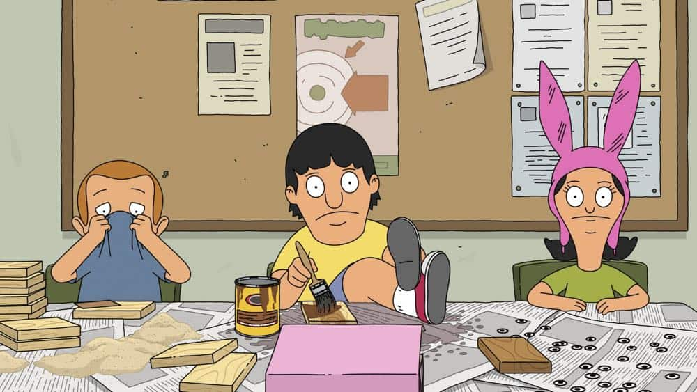 "BOB'S BURGERS: Tina, Louise and Gene get a taste of business when they join the school's Tweentrepeneurs club in the ""Tweentrepreneurs"" episode of BOB'S BURGERS airing Sunday, Oct. 14 (8:30-9:00 PM ET/PT) on FOX. BOB'S BURGERS™ and © 2018 TCFFC ALL RIGHTS RESERVED. CR: FOX"