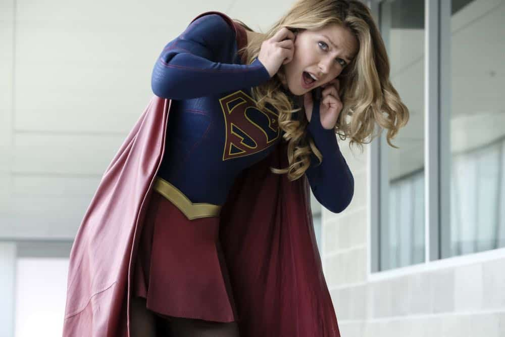 """Supergirl -- """"American Alien"""" -- Image Number: SPG401b_0101b.jpg -- Pictured: Melissa Benoist as Kara/Supergirl -- Photo: Bettina Strauss/The CW -- © 2018 The CW Network, LLC. All Rights Reserved."""