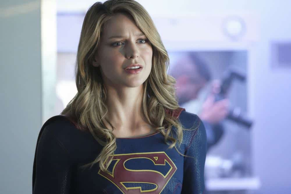 """Supergirl -- """"American Alien"""" -- Image Number: SPG401b_0217b.jpg -- Pictured: Melissa Benoist as Kara/Supergirl -- Photo: Bettina Strauss/The CW -- © 2018 The CW Network, LLC. All Rights Reserved."""