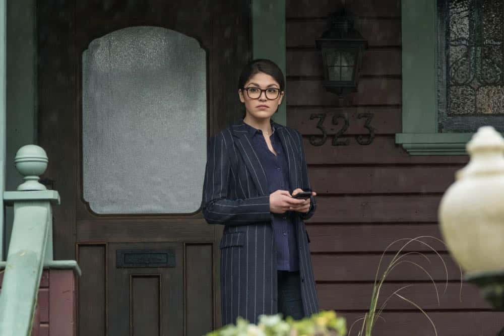 "Charmed -- ""Pilot""-- Image Number: CMD101f_0184.jpg -- Pictured: Ellen Tamaki as Niko Hamada -- Photo: Katie Yu/The CW -- © 2018 The CW Network, LLC. All Rights Reserved."