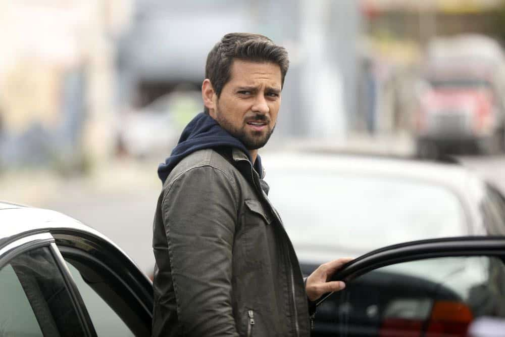"MANIFEST -- ""Unclaimed Baggage"" Episode 104 -- Pictured: J.R. Ramirez as Det. Jared Vasquez -- (Photo by: Craig Blankenhorn/NBC/Warner Brothers)"