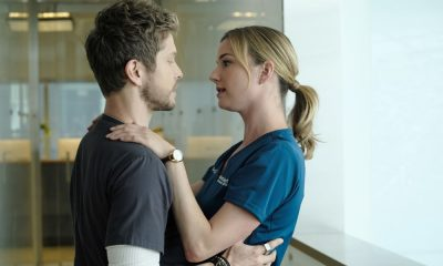 "THE RESIDENT: L-R: Matt Czuchry and Emily VanCamp in the ""About Time"" episode of THE RESIDENT airing Monday, Oct. 15 (8:00-9:00 PM ET/PT) on FOX. ©2018 Fox Broadcasting Co. Cr: Guy D'AlemaFOX."