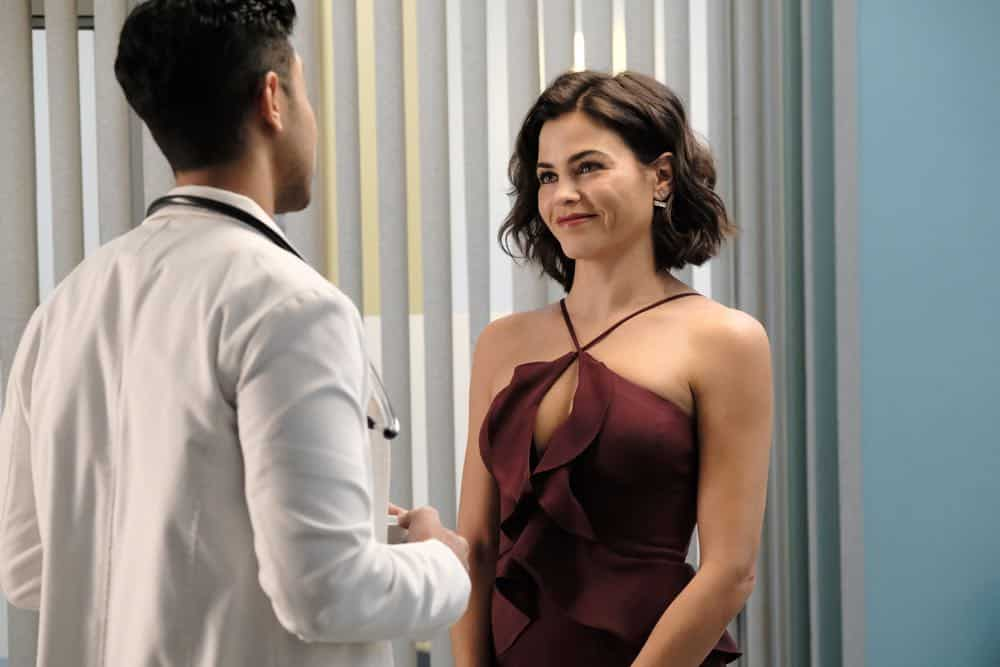 "THE RESIDENT:  Guest star Jenna Dewan in the ""About Time"" episode of THE RESIDENT airing Monday, Oct. 15 (8:00-9:00 PM ET/PT) on FOX. ©2018 Fox Broadcasting Co. Cr:  Guy D'AlemaFOX."
