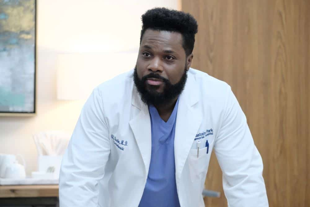 "THE RESIDENT:  Malcolm Jamal Warner in the ""About Time"" episode of THE RESIDENT airing Monday, Oct. 15 (8:00-9:00 PM ET/PT) on FOX. ©2018 Fox Broadcasting Co. Cr:  Guy D'AlemaFOX."