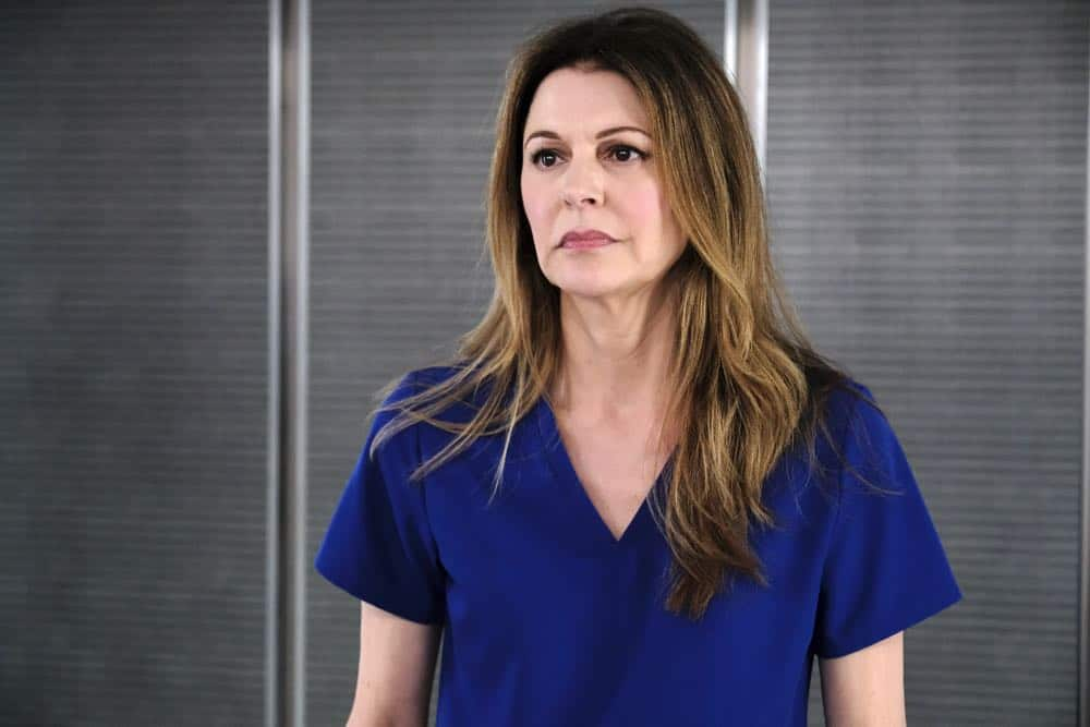 "THE RESIDENT:  Jane Leeves in the ""About Time"" episode of THE RESIDENT airing Monday, Oct. 15 (8:00-9:00 PM ET/PT) on FOX. ©2018 Fox Broadcasting Co. Cr:  Guy D'AlemaFOX."