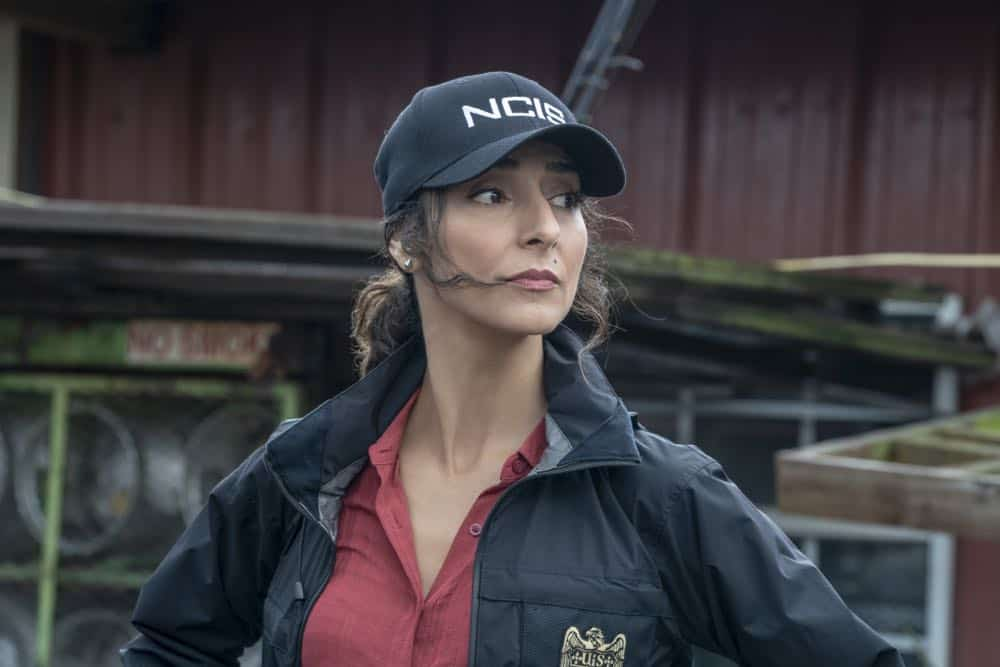 """Legacy"" -- After a petty officer is found murdered under a shrimping boat, the NCIS investigation uncovers a conspiracy in the tight-knit local fishing community. Also, Lasalle awaits the final results of the tax fraud investigation into his familyÕs company, on NCIS: NEW ORLEANS, Tuesday, Oct. 16 (10:00-11:00 PM, ET/PT) on the CBS Television Network.Pictured: Necar Zadegan as Special Agent Hannah Khoury Photo: Skip Bolen/CBS ©2018 CBS Broadcasting, Inc. All Rights Reserved"