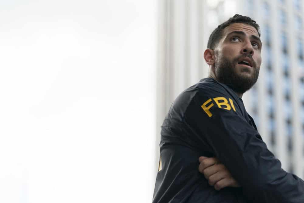 ÒCrossfireÓ Ð Special Agents Maggie Bell and OA Zidan rush to track down an active sniper with an elusive motive as the body count continues to rise, on FBI, Tuesday, Oct. 16 (9:00-10:00 PM, ET/PT) on the CBS Television Network. Pictured: EZeeko Zaki Photo: Michael Parmelee/CBS ©2018 CBS Broadcasting, Inc. All Rights Reserved