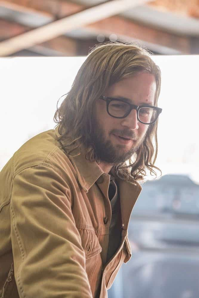 "THIS IS US -- ""Vietnam"" Episode 304 -- Pictured: Michael Angarano as Nicky -- (Photo by: Ron Batzdorff/NBC)"