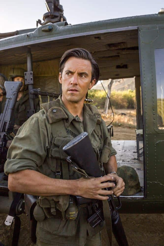 "THIS IS US -- ""Vietnam"" Episode 304 -- Pictured: Milo Ventimiglia as Jack Pearson -- (Photo by: Ron Batzdorff/NBC)"