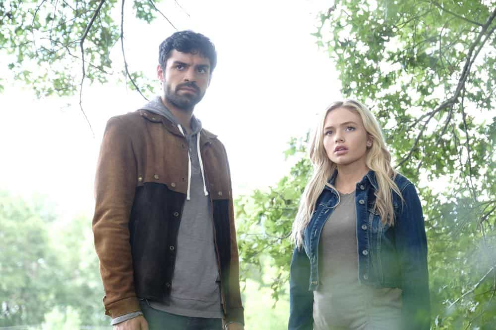 "THE GIFTED:  L-R:  Sean Teale and Natalie Alyn Lind in the ""outMatched"" episode of THE GIFTED airing Tuesday, Oct. 16 (8:00-9:00 PM ET/PT) on FOX. ©2018 Fox Broadcasting Co. Cr: Guy D'Alema/FOX."