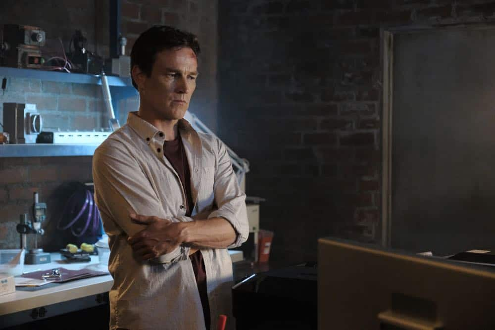 "THE GIFTED:  Stephen Moyer in the ""outMatched"" episode of THE GIFTED airing Tuesday, Oct. 16 (8:00-9:00 PM ET/PT) on FOX. ©2018 Fox Broadcasting Co. Cr: Guy D'Alema/FOX."