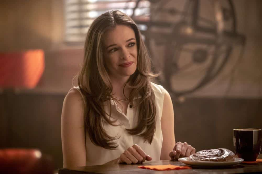 "The Flash -- ""Blocked"" -- Image Number: FLA502a_0034b.jpg -- Pictured (L-R): Danielle Panabaker as Caitlin Snow  -- Photo: Jack Rowand/The CW -- © 2018 The CW Network, LLC. All rights reserved"