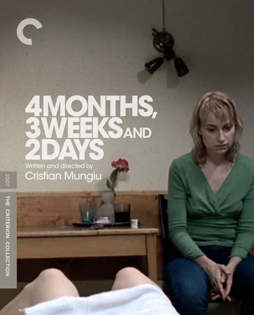 4 Months, 3 Weeks and 2 Days The Criterion Collection Cover