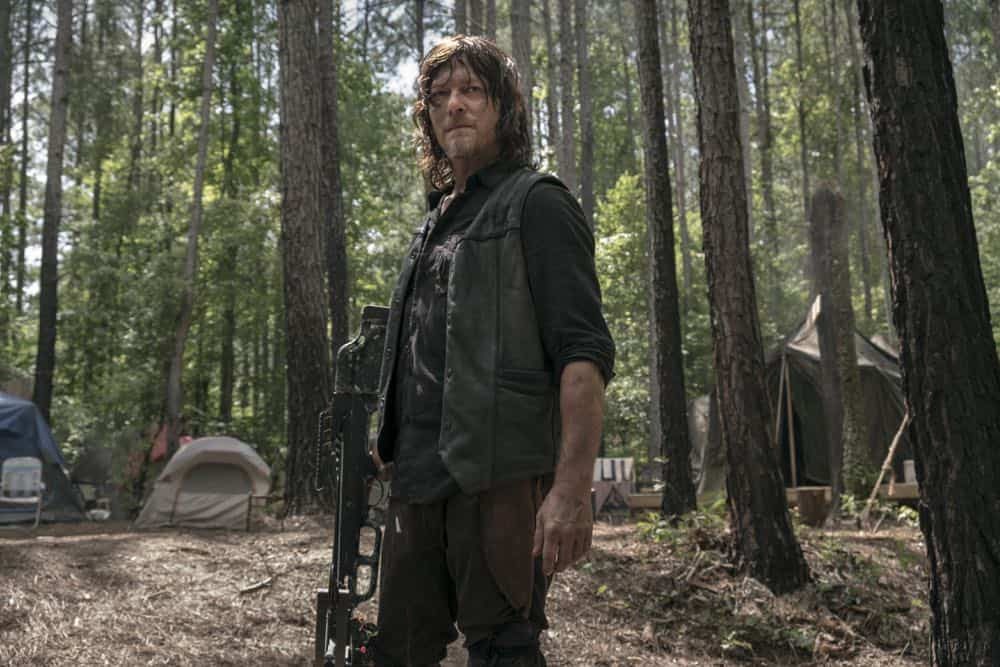 Norman Reedus as Daryl Dixon - The Walking Dead _ Season 9, Episode 3 - Photo Credit: Gene Page/AMC