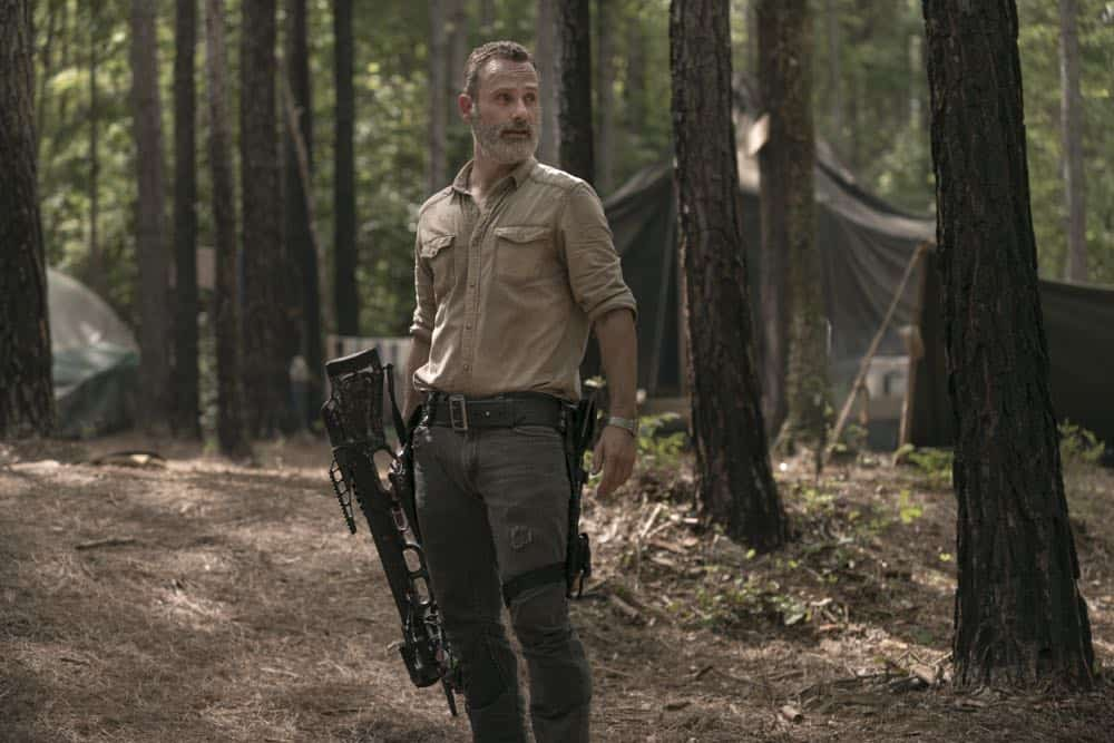 Andrew Lincoln as Rick Grimes - The Walking Dead _ Season 9, Episode 3 - Photo Credit: Gene Page/AMC