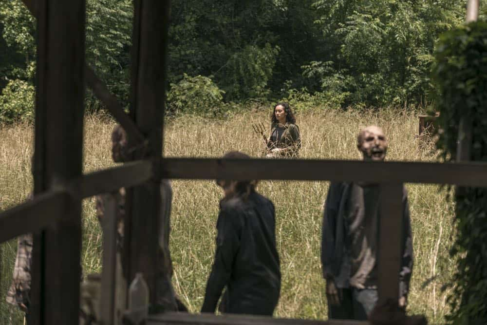 Sydney Park as Cyndie - The Walking Dead _ Season 9, Episode 3 - Photo Credit: Gene Page/AMC