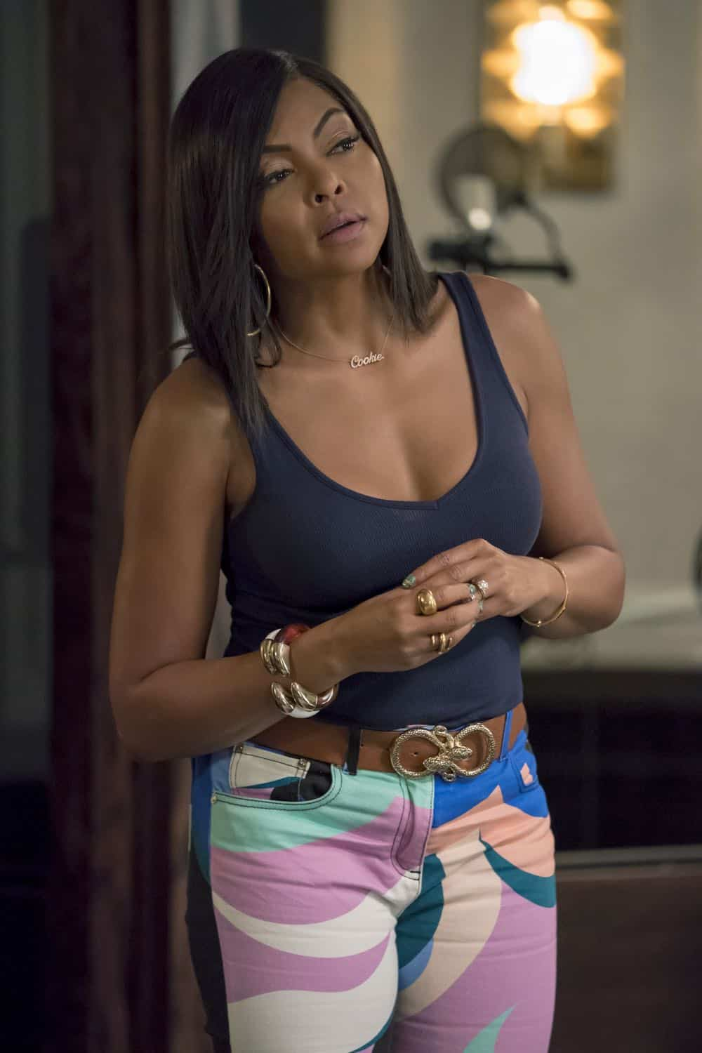"EMPIRE: Taraji P. Henson in the ""Love All, Trust A Few"" episode of EMPIRE airing Wednesday, Oct. 17 (8:00-9:00 PM ET/PT) on FOX. @2018 Fox Broadcasting Co. CR: Chuck Hodes/FOX."