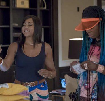 "EMPIRE: L-R: Taraji P. Henson and Ta'Rhonda Jones in the ""Love All, Trust A Few"" episode of EMPIRE airing Wednesday, Oct. 17 (8:00-9:00 PM ET/PT) on FOX. @2018 Fox Broadcasting Co. CR: Chuck Hodes/FOX."