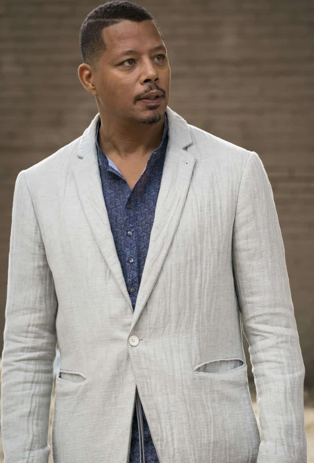 "EMPIRE: Terrence Howard in the ""Love All, Trust A Few"" episode of EMPIRE airing Wednesday, Oct. 17 (8:00-9:00 PM ET/PT) on FOX. @2018 Fox Broadcasting Co. CR: Chuck Hodes/FOX."