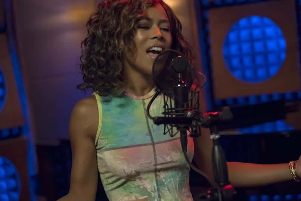 "EMPIRE: Serayah in the ""Love All, Trust A Few"" episode of EMPIRE airing Wednesday, Oct. 17 (8:00-9:00 PM ET/PT) on FOX. @2018 Fox Broadcasting Co. CR: Chuck Hodes/FOX."