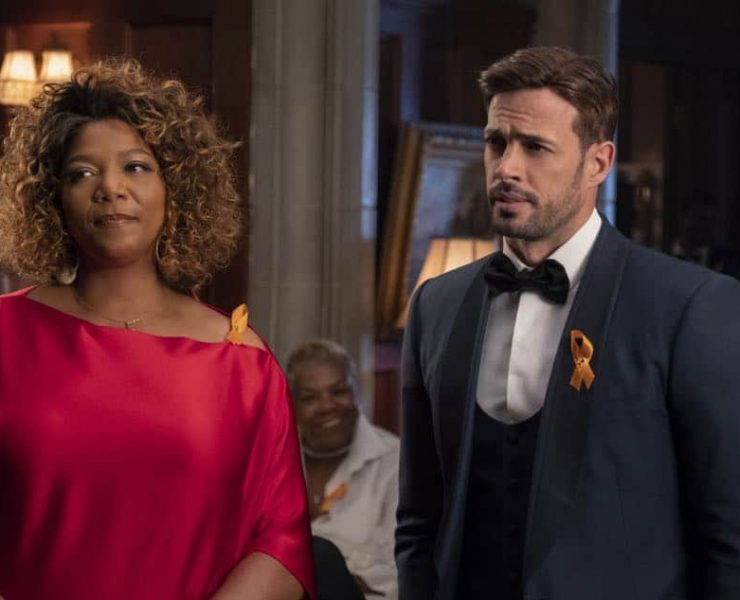 """STAR: L-R: Queen Latifah and William Levy in the """"All Falls Down"""" episode of STAR airing Wednesday, Oct. 17 (9:00-10:00 PM ET/PT) on FOX. ©2018 Fox Broadcasting Co. CR: Wilford Harewood/FOX"""