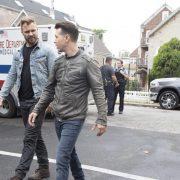 "CHICAGO P.D. -- ""Ride Along"" Episode 604 -- Pictured: (l-r) Patrick John Flueger as Adam Ruzek, Jon Seda as Antonio Dawson -- (Photo by: Adrian Burrows/NBC)"