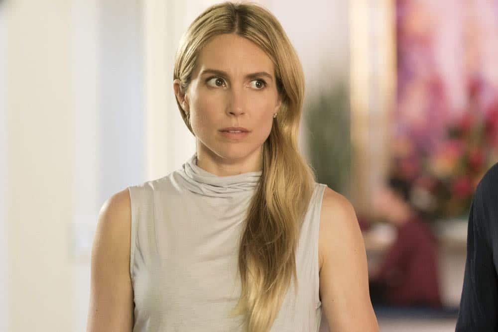"""LAW & ORDER: SPECIAL VICTIMS UNIT -- """"Accredo"""" Episode 2005 -- Pictured: Sarah Carter as Lilah Finch -- (Photo by: Barbara Nitke/NBC)"""