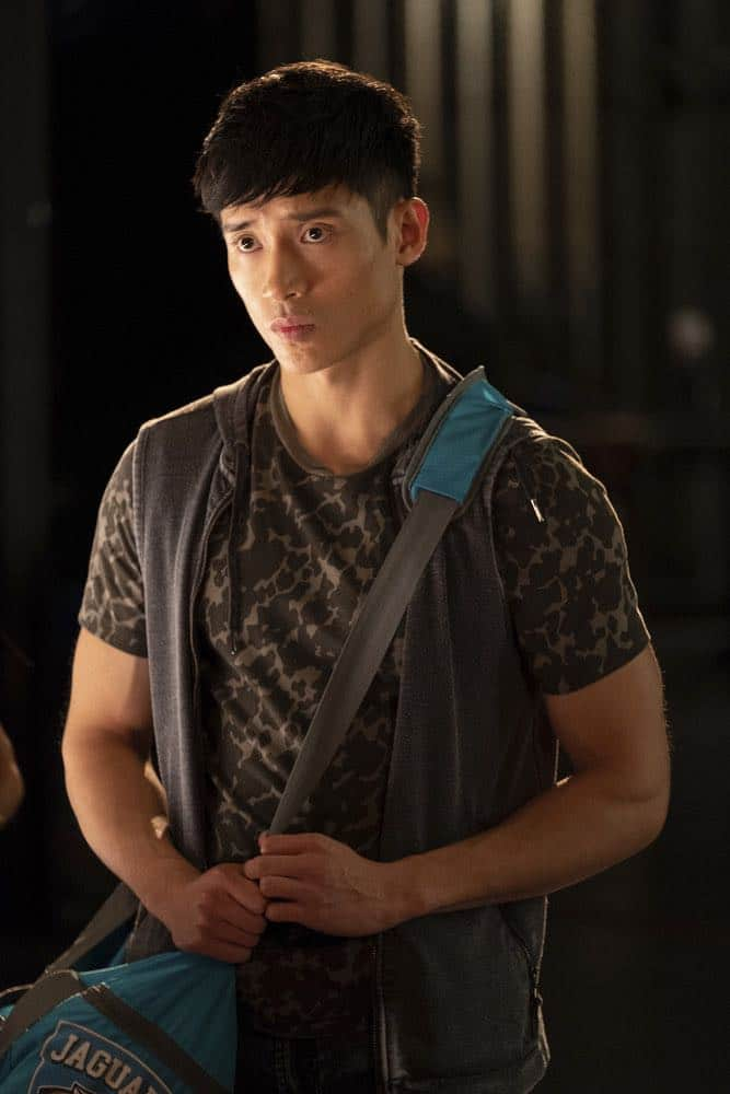 """THE GOOD PLACE -- """"Jeremy Bearimy"""" Episode 305 -- Pictured: Manny Jacinto as Jason Mendoza -- (Photo by: Colleen Hayes/NBC)"""