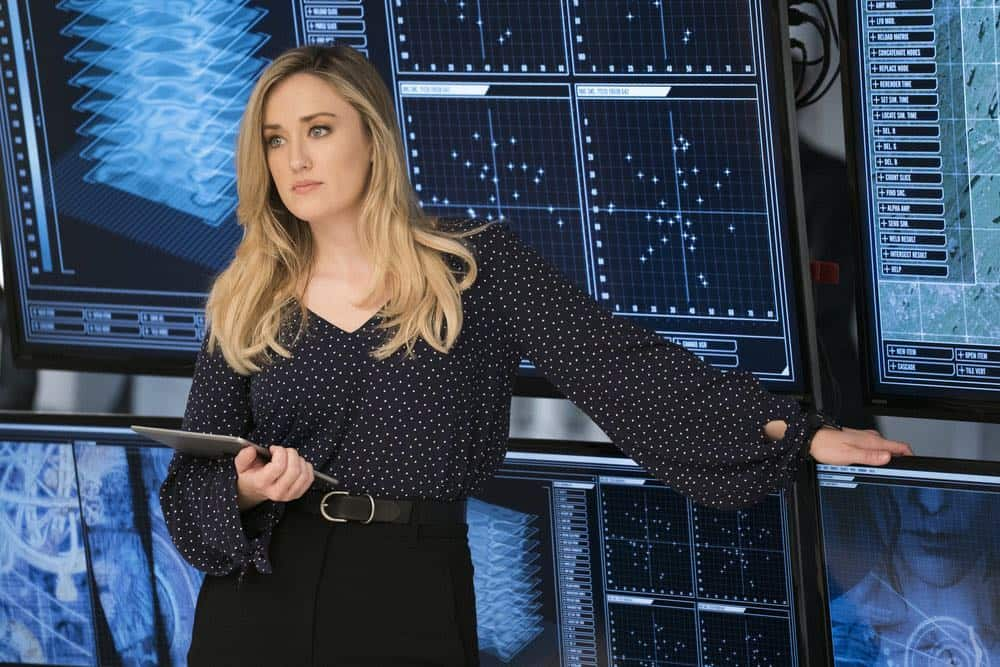 "BLINDSPOT -- ""My Art Project"" Episode 402 -- Pictured: Ashley Johnson as Patterson -- (Photo by: Scott Gries/NBC/Warner Bros.)"