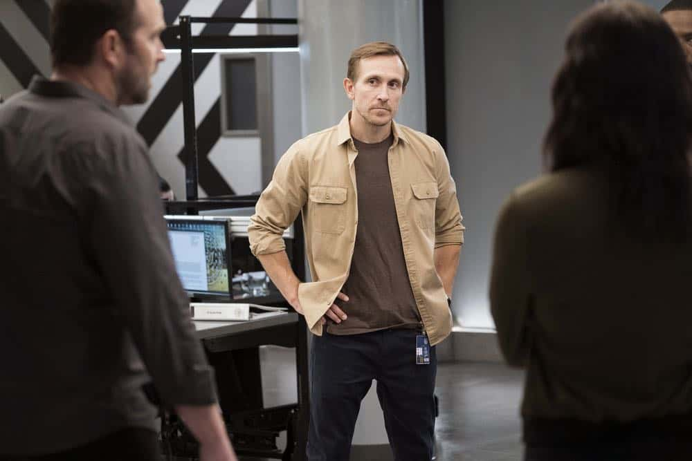 "BLINDSPOT -- ""My Art Project"" Episode 402 -- Pictured: Chad Donella as Jake Keaton -- (Photo by: Scott Gries/NBC/Warner Bros.)"