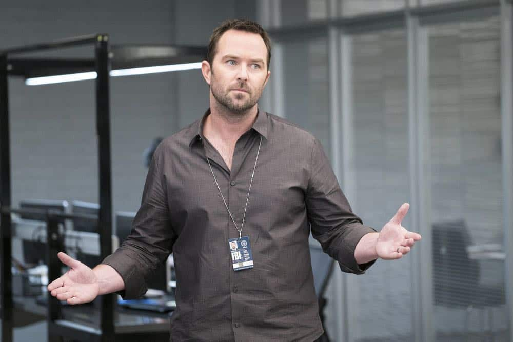 "BLINDSPOT -- ""My Art Project"" Episode 402 -- Pictured: Sullivan Stapleton as Kurt Weller -- (Photo by: Scott Gries/NBC/Warner Bros.)"