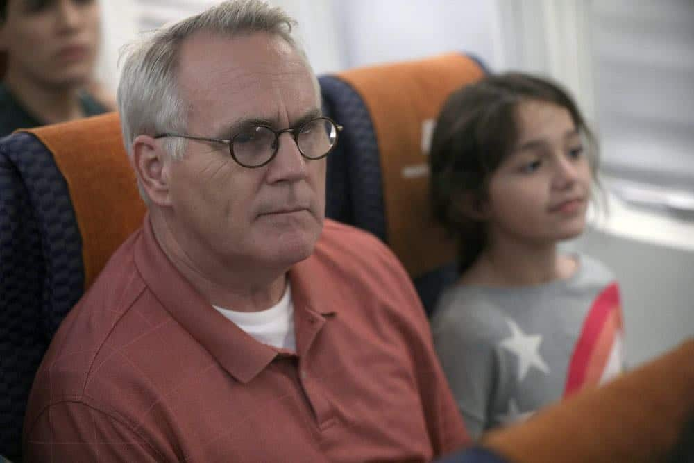 "MANIFEST -- ""Connecting Flights"" Episode 105 -- Pictured: Malachy Cleary as Steve Stone -- (Photo by: Craig Blankenhorn/NBC/Warner Brothers)"