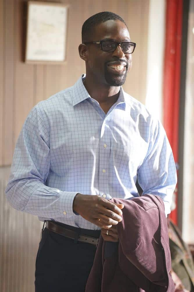 "THIS IS US -- ""Toby"" Episode 305 -- Pictured: Sterling K. Brown as Randall Pearson -- (Photo by: Paul Drinkwater/NBC)"